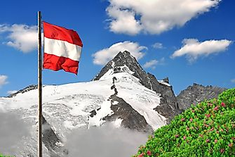 What Do The Colors And Symbols Of The Flag Of Austria Mean?