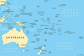 The 10 Most Populated Countries in Oceania
