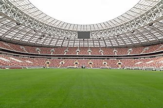 The 2018 FIFA World Cup Stadiums in Russia