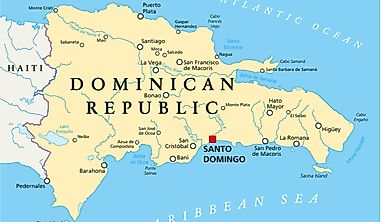 Which Countries Border The Dominican Republic?