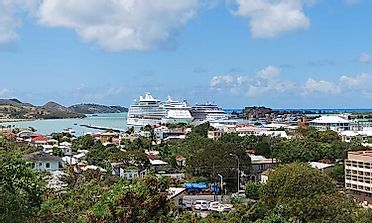 Biggest Cities In Antigua and Barbuda