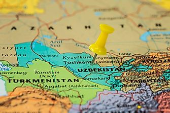 Which Countries Border Uzbekistan?