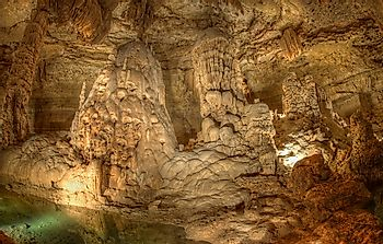 Natural Bridge Caverns - Unique Places Around the World