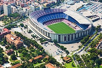 The Largest Football (Soccer) Stadiums In The World