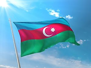 What Do the Colors and Symbols of the Flag of Azerbaijan Mean?