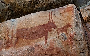 What is Tsodilo Rock Art?