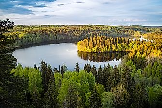 Why Is Finland Called A Land of a Thousand Lakes?