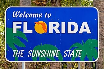 Which States Border Florida?