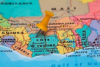 Which Countries Border The Ivory Coast?
