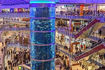 The Largest Shopping Malls in Europe