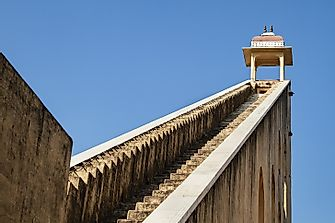 Where Is The Jantar Mantar, Home Of The World's Largest Sundial?