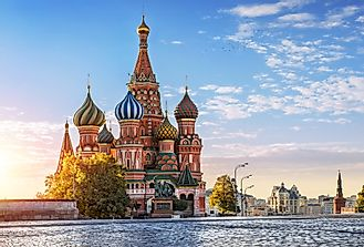 When Was St. Basil's Cathedral Built?