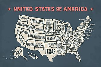 How Many States Are In The US?