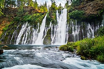 The Burney Falls of California
