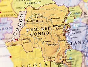 Which Countries Border The Democratic Republic Of The Congo?