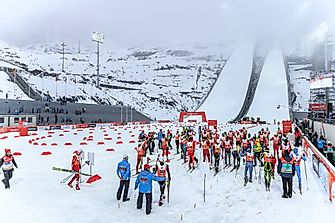 Winter Olympic Games: Nordic Combined