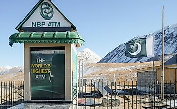 Where Is The World's Highest ATM Located?