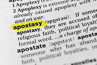 What is Apostasy?