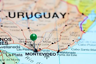 Which Countries Border Uruguay?