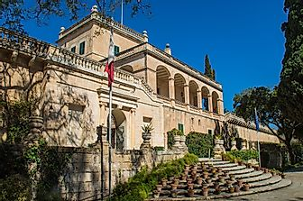 Where Does The President Of Malta Live?
