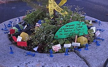Mill Ends Park: The Mysterious Tale Of The Smallest Park In The World