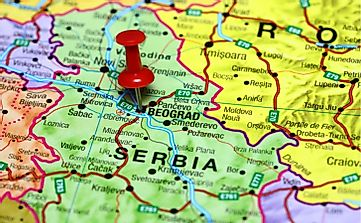 What Continent Is Serbia Located In?