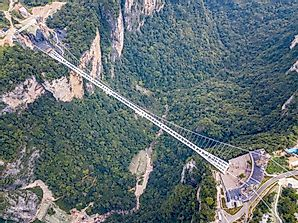 Where Is The World's Highest Glass-Bottomed Bridge?