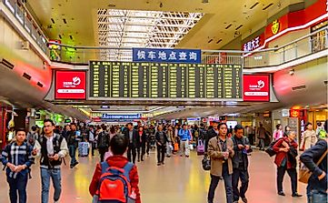 The 10 Busiest Railway Stations In China