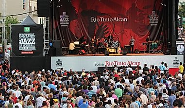 Where Is The World's Largest Jazz Festival Held?