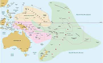 Which Countries And Territories Make Up Melanesia?
