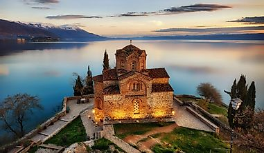 Which Countries Share Lake Ohrid?