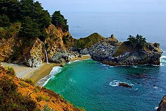 The Enchanting McWay Falls in Julia Pfeiffer Burns State Park, California