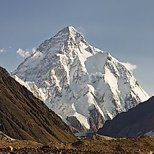 Where Does K2 (Chhoghori) Rise?