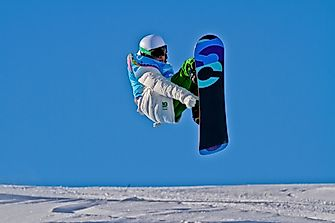 Winter Olympic Games: Snowboarding