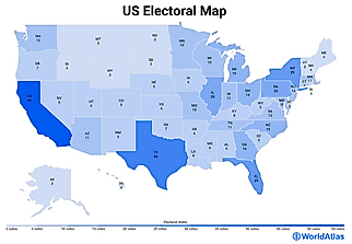 US States By Electoral Votes