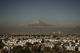Where Does The Mountain Pico De Orizaba Rise?