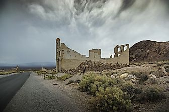 Ghost Towns of America: Rhyolite, Nevada