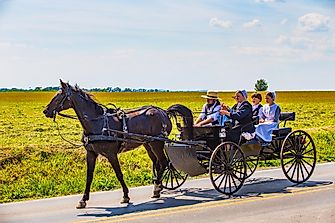 Where Are The Amish?