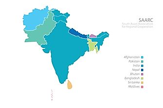 Which Countries Are Considered to be South Asia?