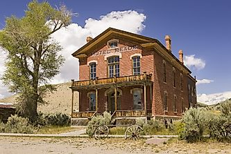 Ghost Towns in America: Bannack, Montana