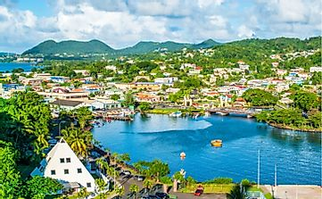 What Are The Major Natural Resources Of Saint Lucia?