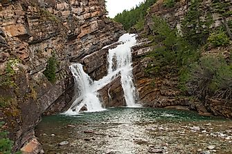 What Is The Unique About The Cameron Falls Of Alberta?