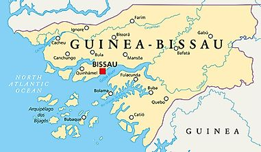 Which Countries Border Guinea-Bissau?