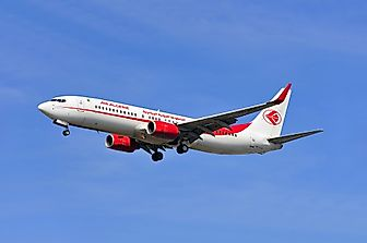 What is the National Airline of Algeria?