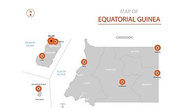 Which Countries Border Equatorial Guinea?