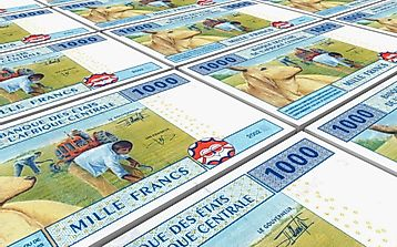 What is the Currency of the Central African Republic?