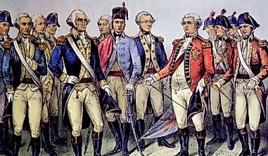 Which Countries Fought in the Revolutionary War?