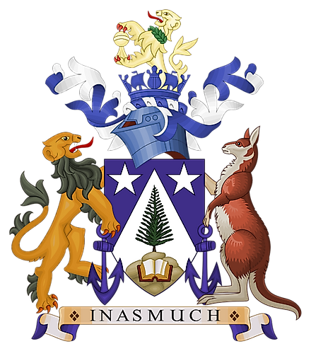 The Coat of Arms of Norfolk Island. Image credit: Squiresy92 including elements from Sodacan