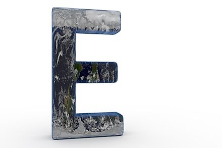 Eight countries start with the letter E.
