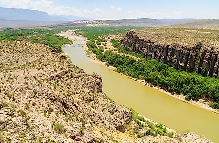 The Rio Grande in Mexico.